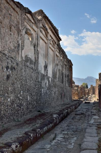 118 - Pompéi - Une rue