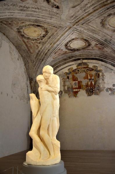 13 - Milan - Château des Sforza - Michel-Ange - La Pieta Rondanini