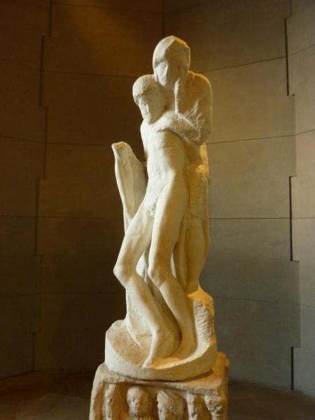 14 Pietà Rondanini Michel Ange