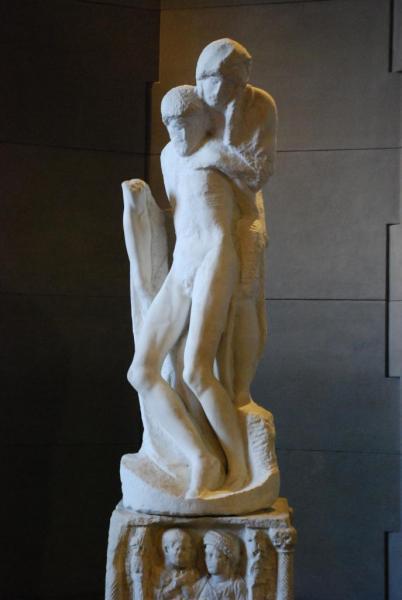15  Pietà Rondanini Michel Ange