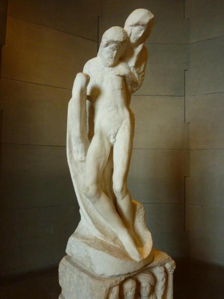 16 Pietà Rondanini Michel Ange
