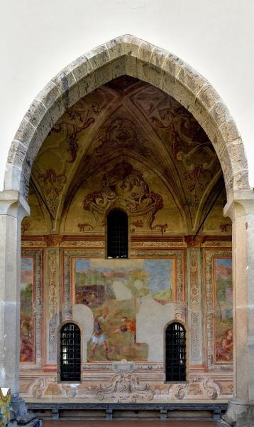 45 - Basilique Santa Chiara - Cloître des clarisses