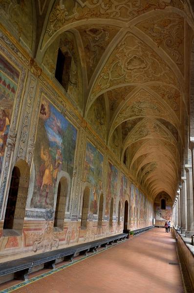 48 - Basilique Santa Chiara - Cloître des clarisses