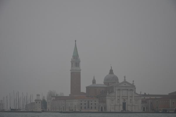 6 - San Giorgio Maggiore dans la brume