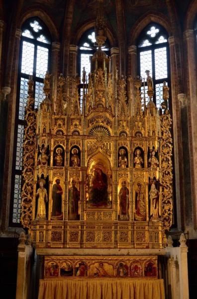 8 - San Zaccaria . La chapelle d'or