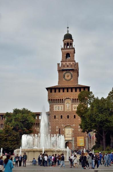 9 - Milan - Château des Sforza